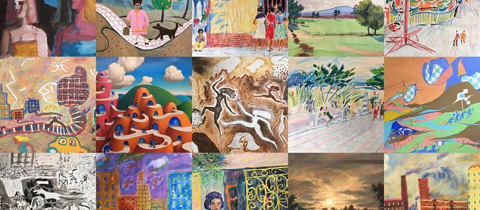 George Rhoads Art Expo Sale