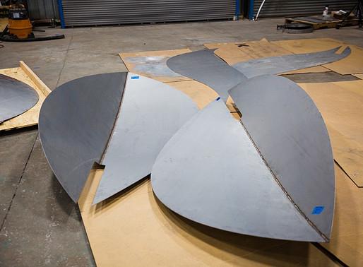 Atrium Artwork Fabrication for Camelback Commons