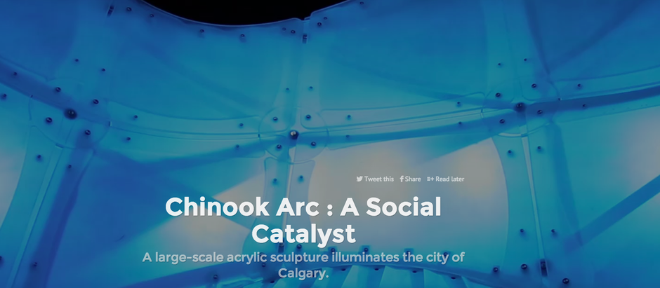 Chinook Arc Featured in Installation Magazine