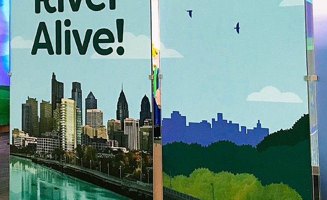 River Alive! Exhibits Installed at Independence Seaport Museum