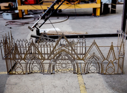 Cathedral Coaster Fabrication Update