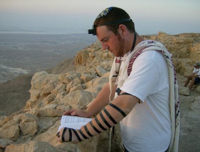 Seth in Israel, 2008