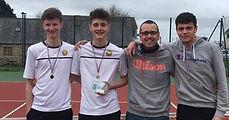palmarès équipe jeune garçon tennis club grégorien saint-grégoire rennes bretagne