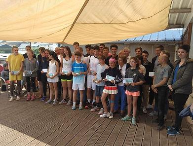 résultats championnats régionaux 2018 tennis club grégorien saint-grégoire rennes bretagne