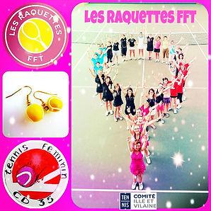 raquettes fft tennis club grégorien saint-grégoire rennes bretagne