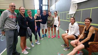 équipe sénir dames tennis club grégorien saint-grégoire rennes bretagne