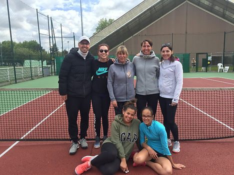 équipe sénior dames tennis club grégorien saint-grégoire rennes bretagne