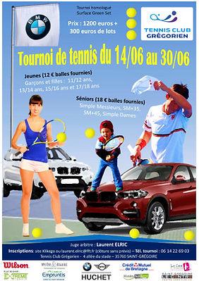 tournois été 2018 tennis club grégorien saint-grégoire rennes bretagne