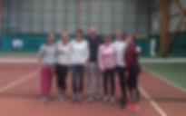 équipe senior dames tennis club grégorien saint-grégoire rennes bretagne
