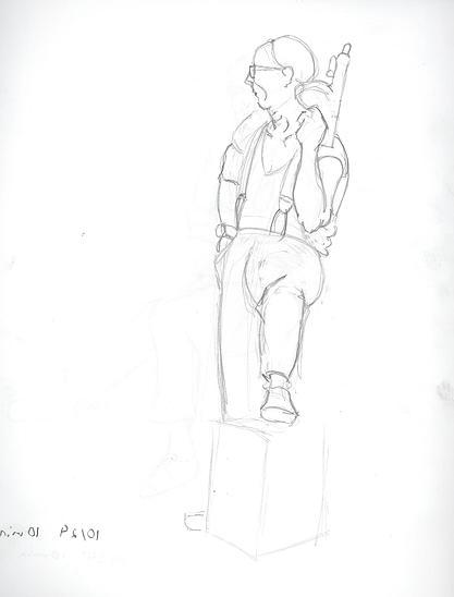Life Drawing   mcgannimation