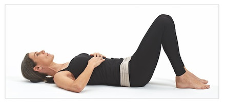1 Activate pelvic muscles