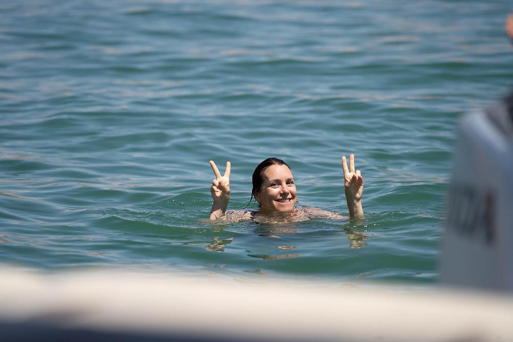 """""""Sprung ins kalte Wasser"""""""