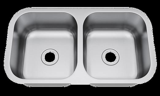 """33"""" x 18"""" undermount stainless steel sink"""
