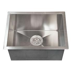 "Asteri 23"" x 18"" undermount stainless steel sink"