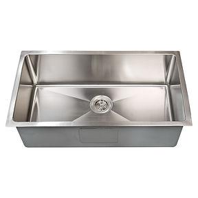 "Asteri 32"" x 19"" undermount stainless steel sink"