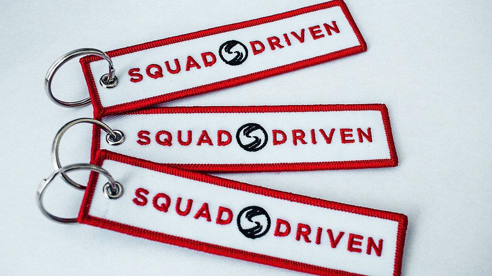 SQUAD DRIVEN Key Tag