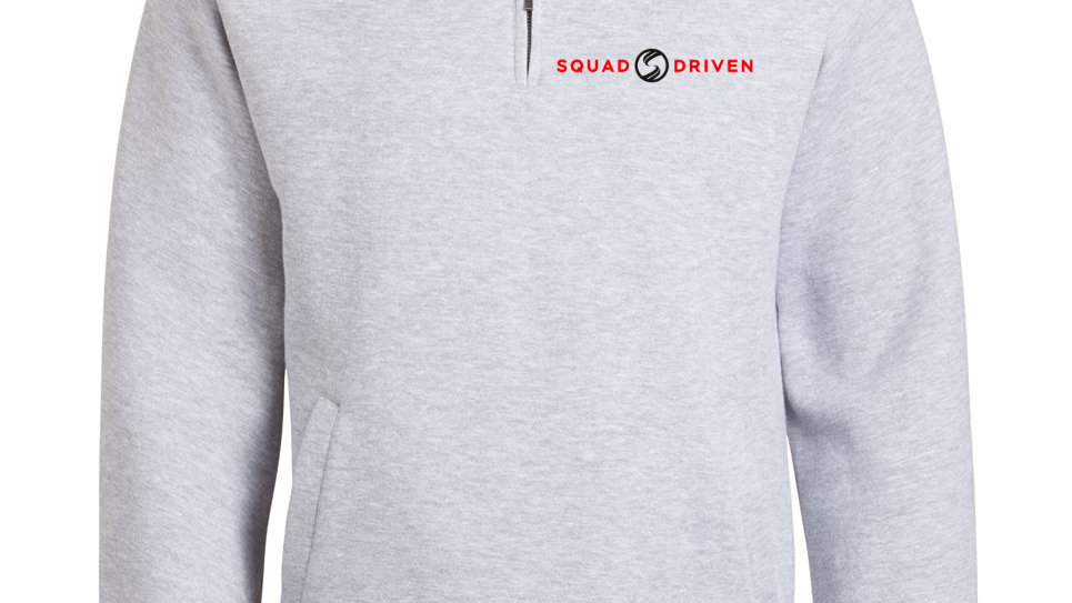SQUAD-Driven 1/4 Zip