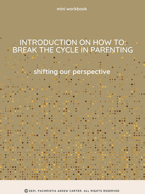 Shifting Our Perspective [Mini Workbook]