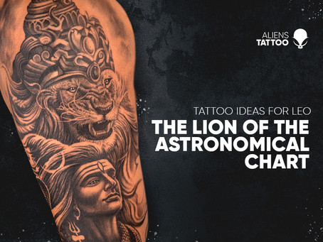 Tattoo Ideas For Leo:  The Lions Of The Zodiac Chart