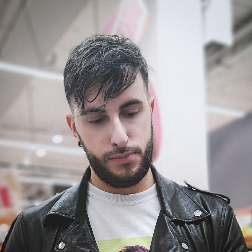 men hair system haircut