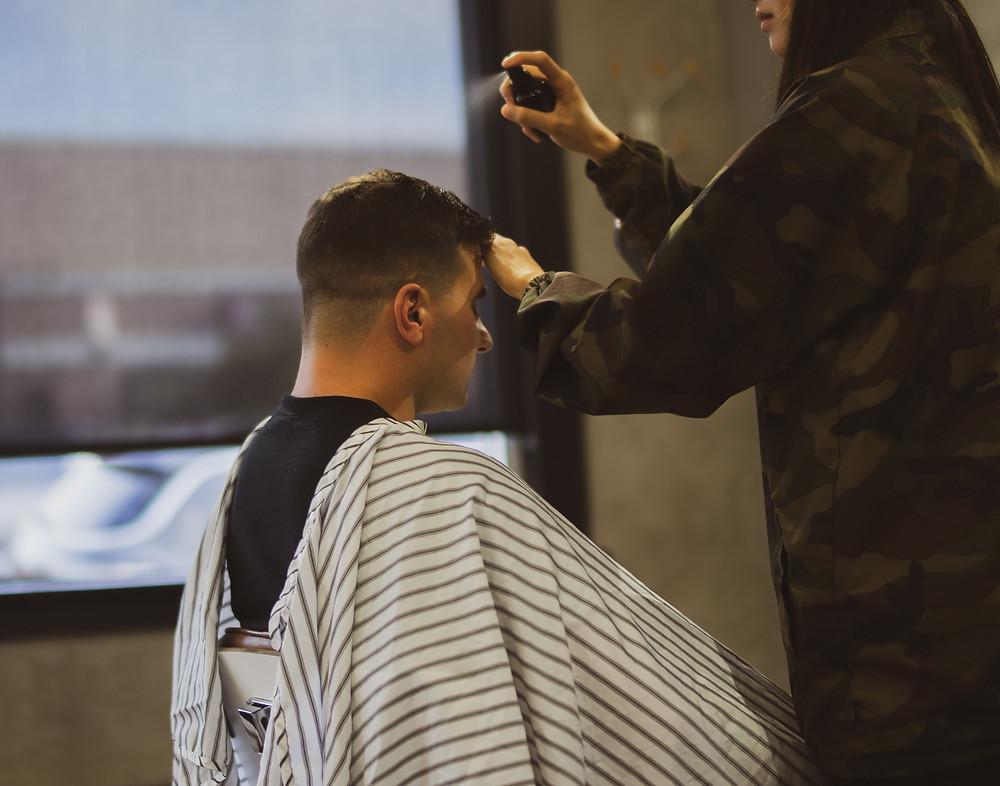 hair unit men tips