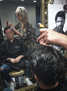 hair unit hair cut professional