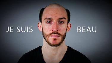 Transformation surprenante homme. Makeup hair transformation.