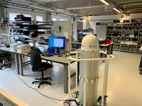 Thor UVC utvärderas av företag i Uppsala