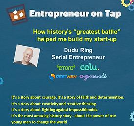 Entrepreneurship on Tap, Dudu Ring 18.pn