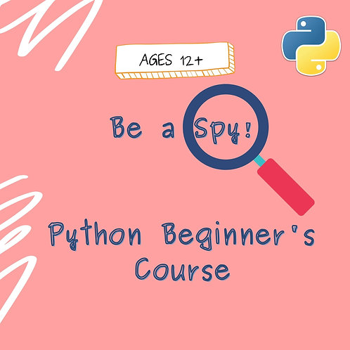 Be a Spy! - Python Beginners Course (15 hours)