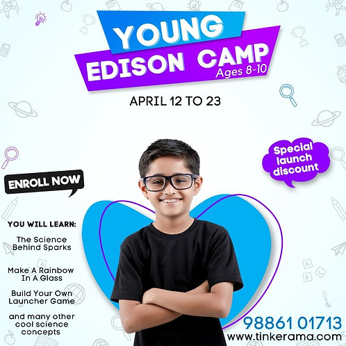 Young Edison Camp(8 to 10 Years)