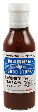 Mark's Good Stuff Sweet 'N Spicy BBQ Sauce