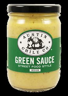 Austin Chile Co. Green Sauce Medium