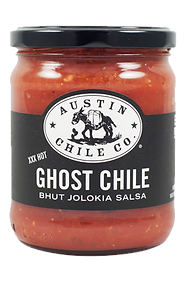 Austin Chile Co. Ghost Chile Bhut Jolokia Salsa