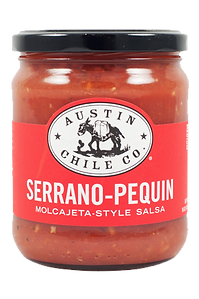 Austin Chile Co. Serrano-Pequin Molcajeta-Style Salsa