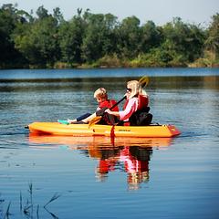 kayaks para la familia