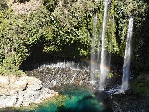 Parque Nacional Radal 7 Tazas Seaflo Kayak Chile