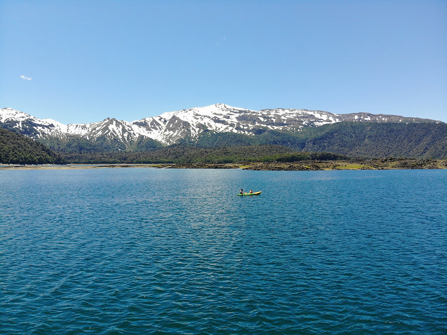 Parque Nacional Conguillio Seaflo Kayak Chile