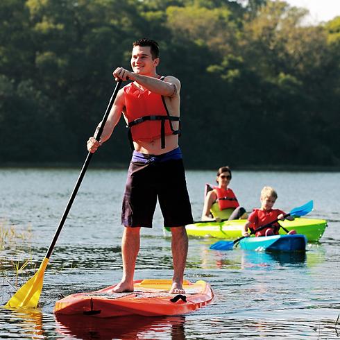 Paddle Rigido Lican Adulto Seaflo Kayak Chile