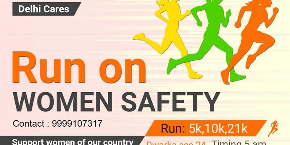 DELHI CARES: RUN ON WOMEN SAFETY