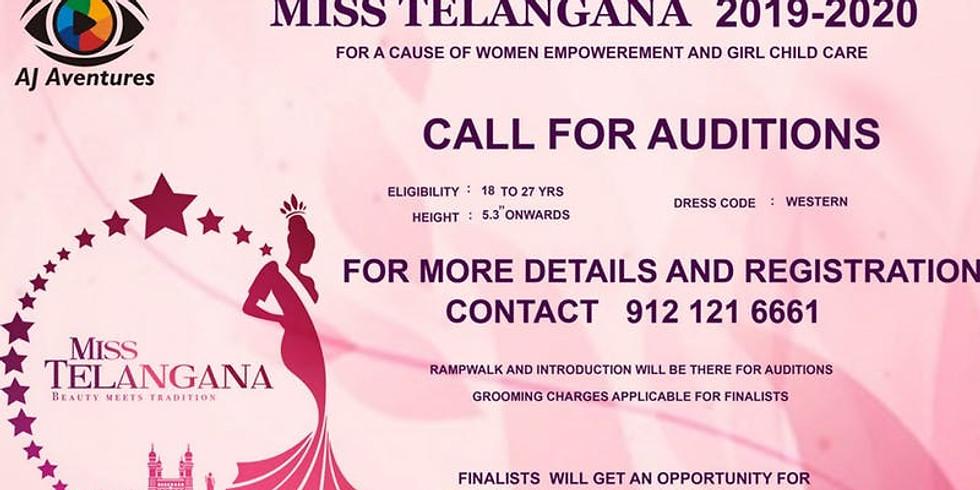 MISS TELANGANA 2019 -2020