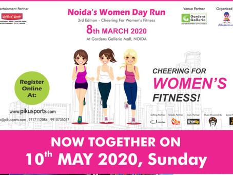 Noida Women Run and Aqua Zumba Fitness Party