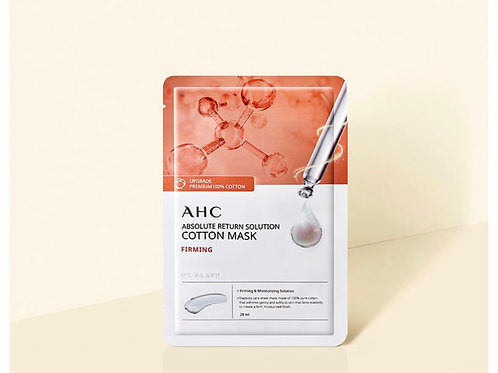 AHC ABSOLUTE RETURN SOLUTION COTTON MASK