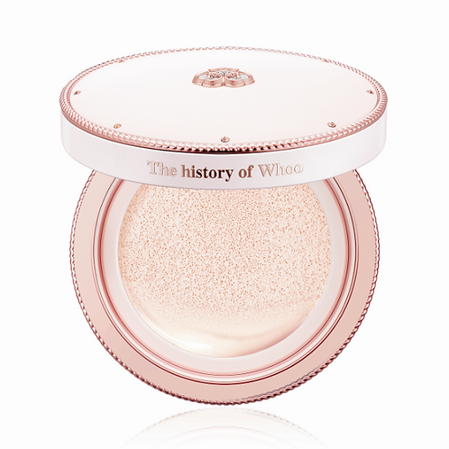 THE HISTORY OF WHOO RADIANT WHITE TONE UP SUN CUSHION