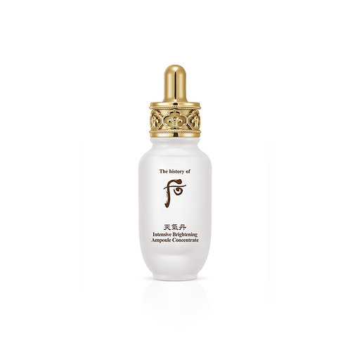 THE HISTORY OF WHOO INTENSIVE BRIGHTENING AMPOULE CONCENTRATE