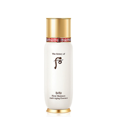 THE HISTORY OF WHOO FIRST MOISTURE ANTI-AGING ESSENCE