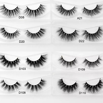 30 Lashes Wholesale Sample