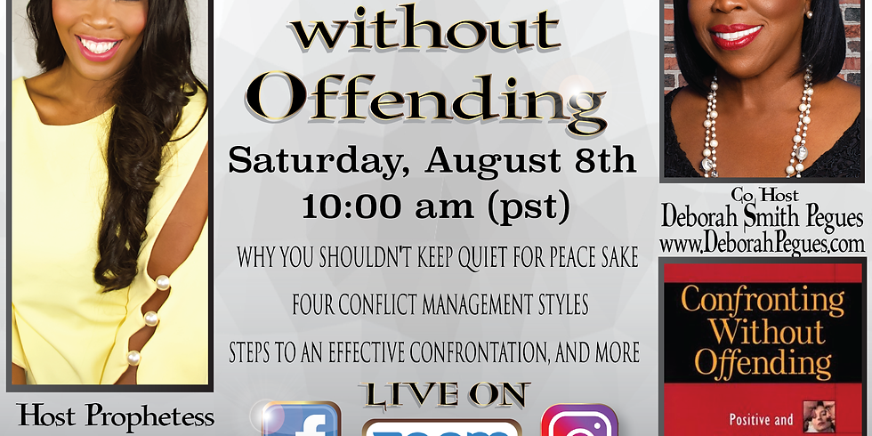 Confronting without Offending With Deborah Smith Pegues