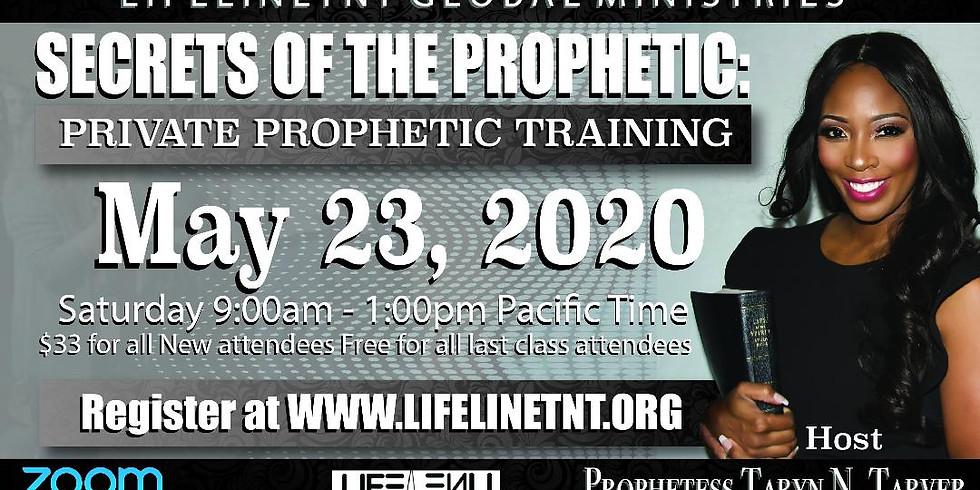 Private Prophetic Training