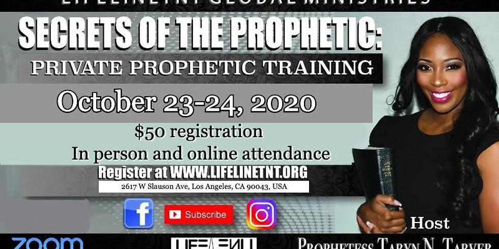 Prophetic School PT 5